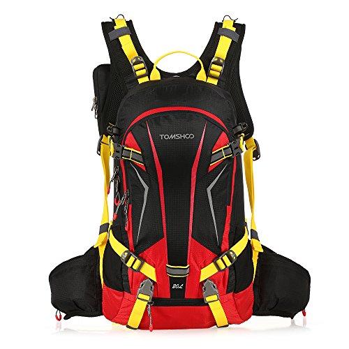 TOMSHOO 20 l Rucksack, ultraleicht, atmungsaktiv, wasserdicht, für Fahrrad, Wandern, Reiten und Reisen,...