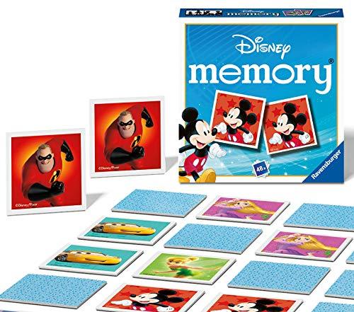Ravensburger Disney Mini-Memory-Spiel für Kinder ab 3 Jahren