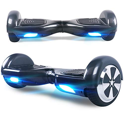 Windgoo Hoverboard, 6.5 Zoll Self Balance Scooter mit Starker Dual Motor - LED Lights Elektro Scooter,...