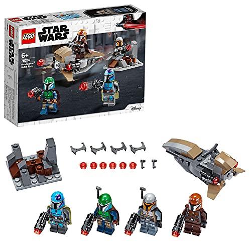 LEGO75267StarWarsMandalorianerBattlePackSetmit4Minifiguren,Speeder-BikeundVertei...