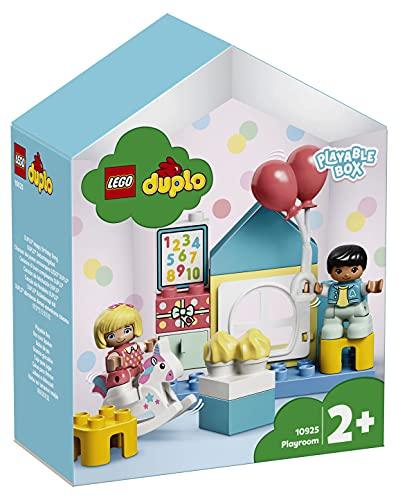 LEGO10925DUPLOSpielzimmer-SpielboxfürKleinkinderab2Jahren,großeBausteine,Lernspiel...