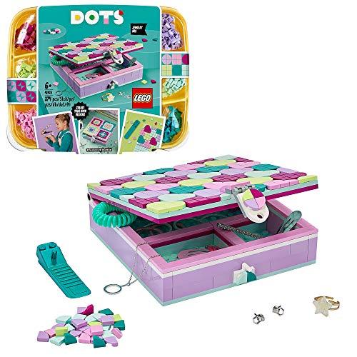 LEGO 41915 DOTS Schmuckbox, Schmuckkästchen für Mädchen und Jungen, Kinderzimmer-Deko, Basteln für...