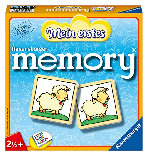 Ravensburger 21130 - Mein erstes Memory - Merk- und Suchspiel für die Kleinen - Spiele für Kinder ab...