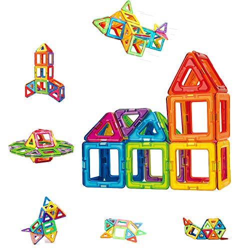 Condis Magnetische Bausteine 42 Teile Magnetspielzeug Magnete Kinder Magnetbausteine Magnet Spielzeug...
