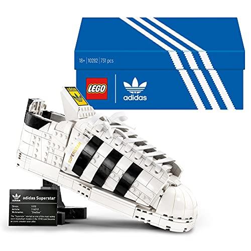 LEGO 10282 Adidas Originals Superstar Sportschuh Modellbauset für Erwachsene, Sammlerstück zum...