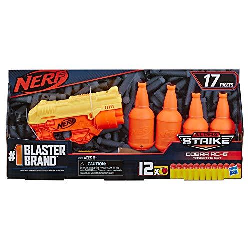 NERF E7857 Alpha Strike Cobra RC-6 Blaster