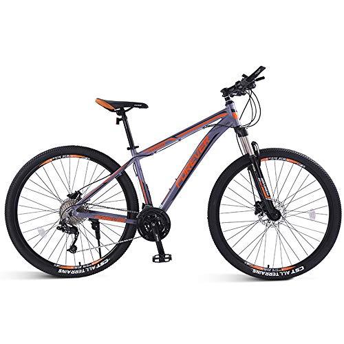 DelongKe 26/29 Zoll Mountainbike, Erwachsenen Jugend Hardtail MTB, Rahmen Aus Kohlenstoffstahl, 33 Speed,...