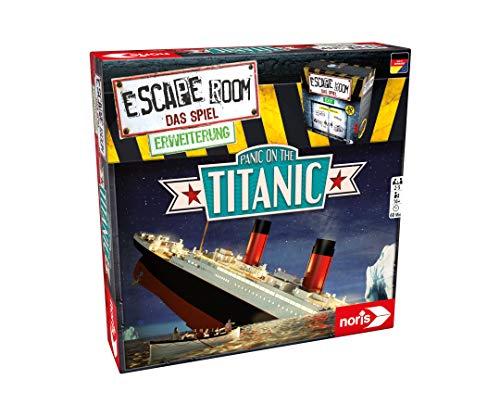 Noris 606101868 - Escape Room Erweiterung Panic on the Titanic - Familien und Gesellschaftsspiel für...