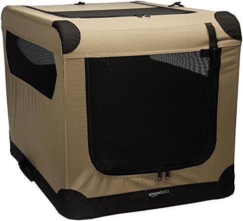 Amazon Basics - Hundekäfig, weich, faltbar, 76 cm