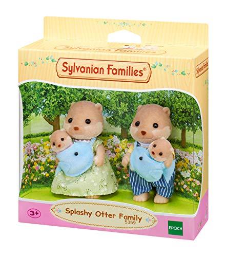 Sylvanian Families 5359 Otter Familie - Figuren für Puppenhaus