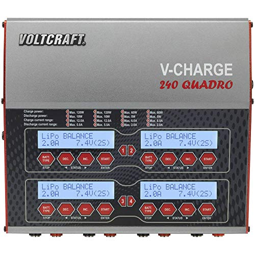 Voltcraft LADEGER T V-Charge 240 Quadro