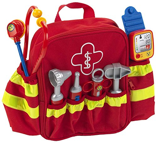 Theo Klein 4314' Rescue Backpack Rettungs-Rucksack, bunt