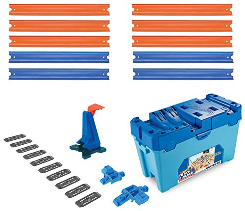 Hot Wheels FLK90 - Track Builder Stunt Builder Super Multi Looping Box, mit ca. 3 m Tracks inkl. Zubehör...