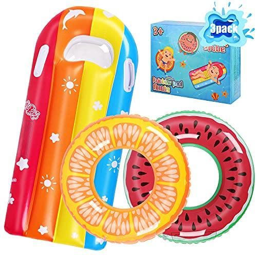 ARANEE Schwimmring Donut Kinder Schwimmreifen Luftmatratze Aufblasbare Schwimmnudel Schwimmreifen...