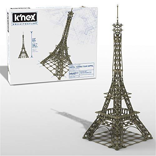 K'Nex 15238 Architektur Eiffelturm Hobby Bastelset, 1470 Teile Modellbausatz Bauset für Jugendliche und...