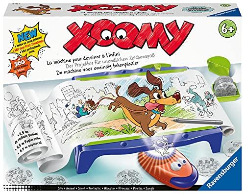 Ravensburger Xoomy Maxi A4 18142 - Zeichnen und Malen lernen für Kinder ab 6 Jahren, Über 300 Motiven...