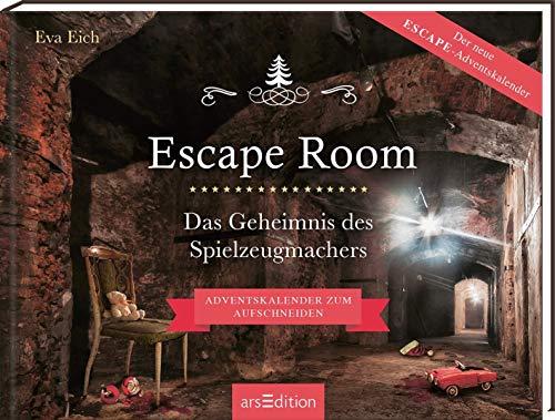 Escape Room. Das Geheimnis des Spielzeugmachers: Das Original: Ein Escape-Room-Adventskalender von Eva...