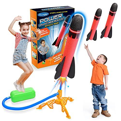 Let's Arezooo Rakete Spielzeug, Spielzeug ab 3-12 Jahre Junge Kinder Outdoor Spielzeug Spiele für...