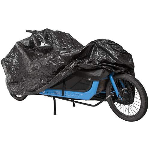 M-Wave Unisex– Erwachsene Cargo Fahrradgarage, extra, einspurige Lastenräder, Fahrradschutz,...