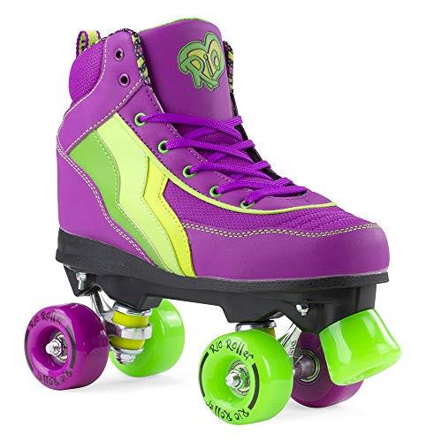 Rio Roller Kids Quads Grape Purple Multi Kids 3uk