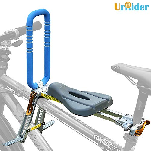 UrRider Kinderfahrradsitz,Vorneliegender Fahrradsitz für Kinder, Faltbarer und ultraleichter...