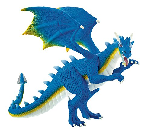 Bullyland 75574 - Spielfigur, Wasserdrache Aquarius, ca. 14 cm, ideal als Torten-Figur, detailgetreu,...