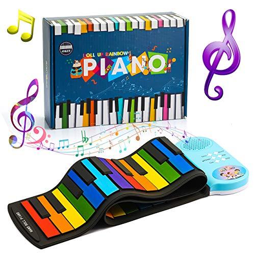 SOKY Geschenke Mädchen 3-10 Jahre, Kinder Keyboard Spielzeug Mädchen 4 5 6 7 8 Jahre Kinder Klavier...