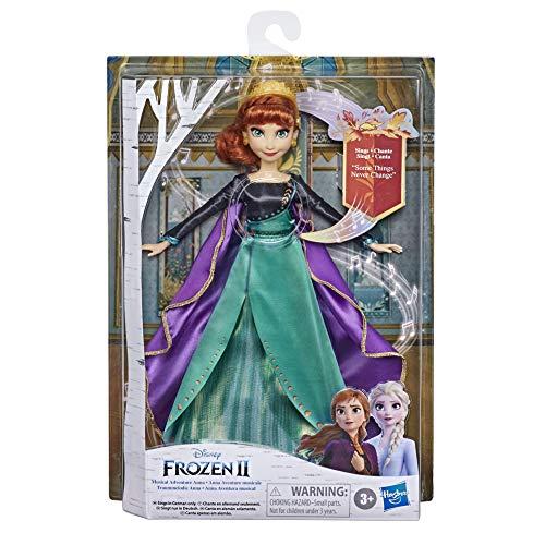 """Disney E8881XG0 Eiskönigin Traummelodie Anna singende Puppe, singt das Lied """"So wird`s immer sein""""..."""