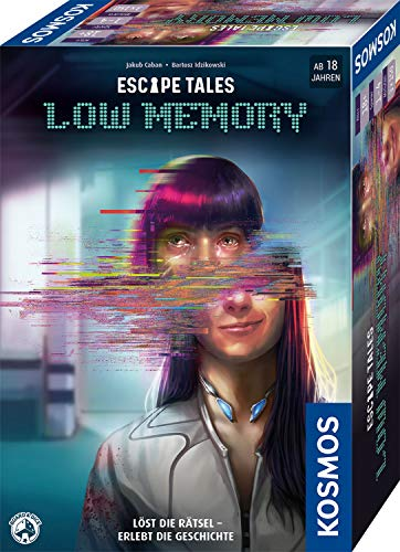 Kosmos 695156 Escape Tales - Low-Memory, Löst die Rätsel. Erlebt die Geschichte, Escape-Room-Spiel,...