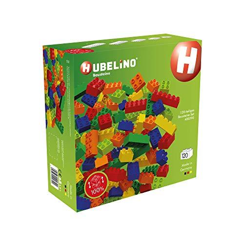 Hubelino 400390 120-teiliges Set Bausteine, kompatibel