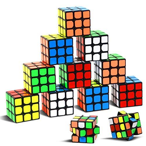 Party Puzzle Spielzeug, 12 Pack Mini Würfel Set Party Favors Cube Puzzle,1.18 'Puzzle Magic Cube...