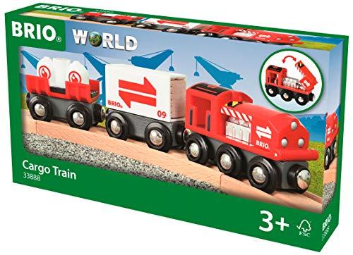 BRIO Bahn 33888 - Güterzug mit Frachtladung