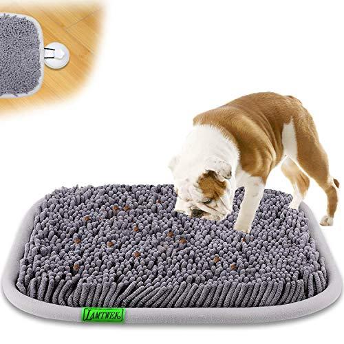 LAMTWEK (17' x 21' Schnüffelteppich Hunde Intelligenzspielzeug, Schnüffelteppich Hund Waschbar,Riechen...
