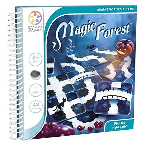 smart games SGT 210 FR nbsp– Magic Forest – magnetisches Reisespiel, französische Version