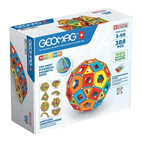 Geomag - Classic Masterbox Magnetische Bausteine für Kinder, Magnetisches Spielzeug, Grüne Kollektion...