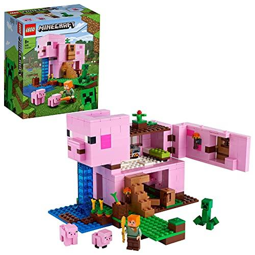 Minecraft-Spielzeug 'Das Schweinehaus' von LEGO Minecraft