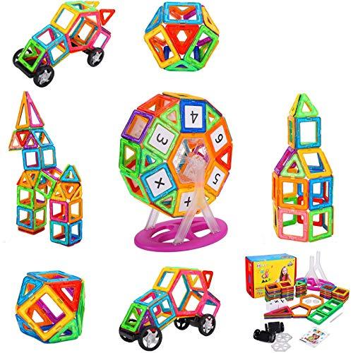 NextX Magnetische Bausteine Magnetspiel Set Pädagogische Bauklötze Spielzeug Konstruktionsspielzeug...