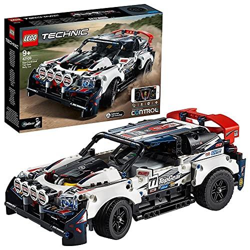 LEGO 42109 Technic Control+ Top-Gear Ralleyauto mit App-Steuerung, Rennauto, ferngesteuertes Auto,...