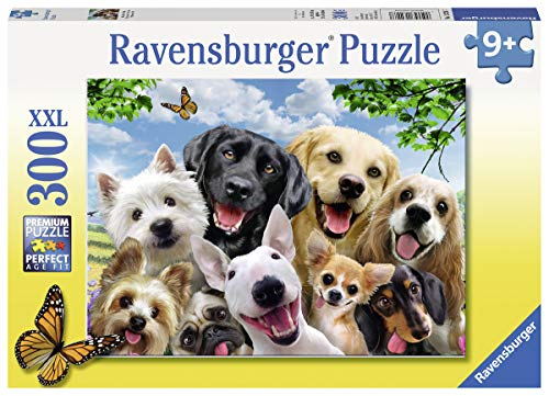 Ravensburger 13228hocherfreut Hunde 300Teile XXL Puzzle