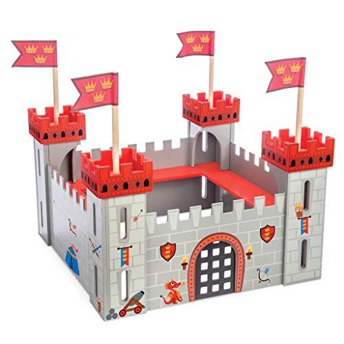 """Le Toy Van – Pädagogisches Castles Collection Rollenspiel """"Meine erste Ritterburg"""" aus Holz –..."""