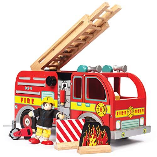 Le Toy Van TV427 Working World-FIRE Engine Fire Engine Set