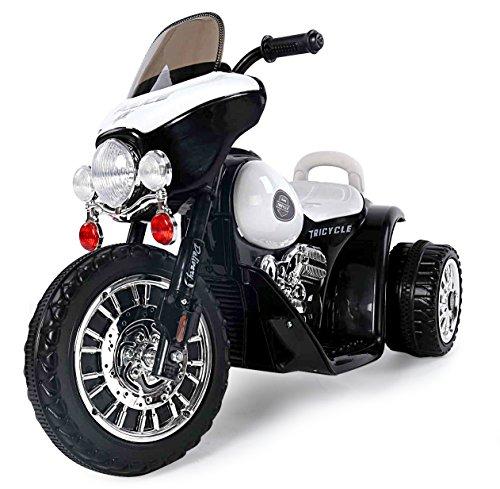 Toyas Harley Kindermotorrad Elektromotorrad Kinderfahrzeug Dreirad Kinder Polizei Motorrad in...