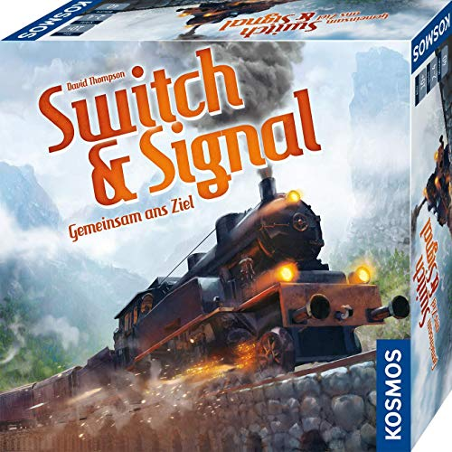 KOSMOS 694265 Switch & Signal, Gemeinsam ans Ziel, kooperatives Eisenbahn-Spiel für 2 - 4 Spieler, ab 10...