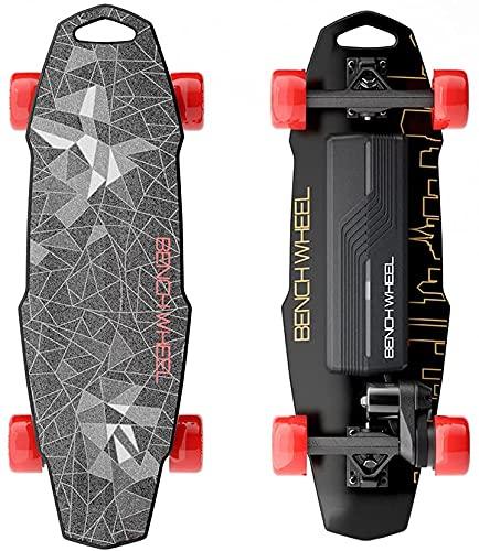 Benchwheel D1 28 'Elektro-Skateboard, 18,5 MPH Höchstgeschwindigkeit, 1000 W Motor, 7 Meilen Reichweite,...