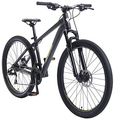 BIKESTAR Hardtail Aluminium Mountainbike Shimano 21 Gang Schaltung, Scheibenbremse 27.5 Zoll Reifen | 16...