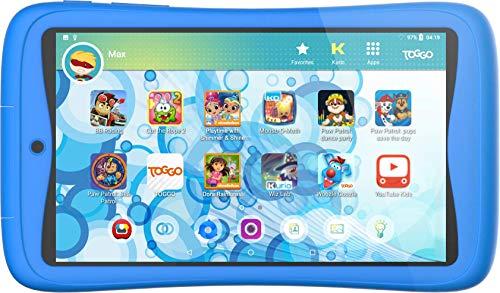 Kurio Tab Connect Toggo - Kindertablett Blau - Nickelodeon-Toggo - 16-GB-Speicher - Webfiltersystem -...