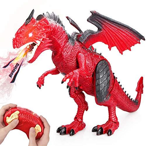 Baztoy Ferngesteuertes Dinosaurier Spielzeug Elektronik Dino Spiele Fernbedienung Tier Kinderspielzeug...