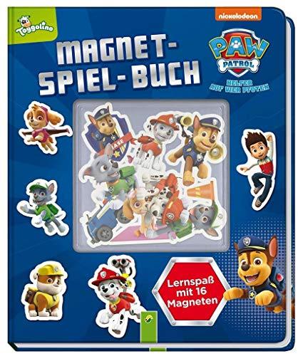 PAW Patrol Magnet-Spiel-Buch: Lernspaß mit 16 Magneten