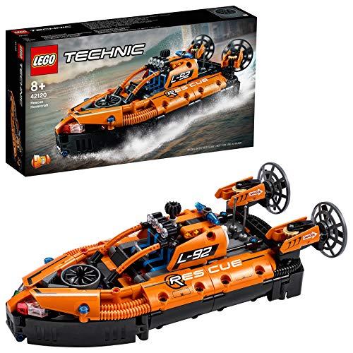 LEGO42120TechnicLuftkissenbootfürRettungseinsätze,2-in-1Modell,BausetfürJungenund...
