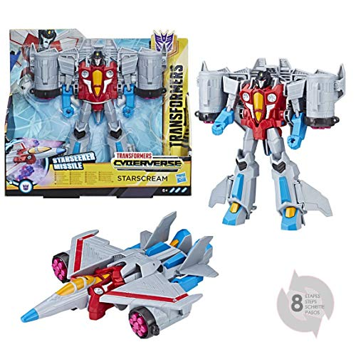 Transformers Cyberverse Action Attackers Ultra Starscream, Actionfigur